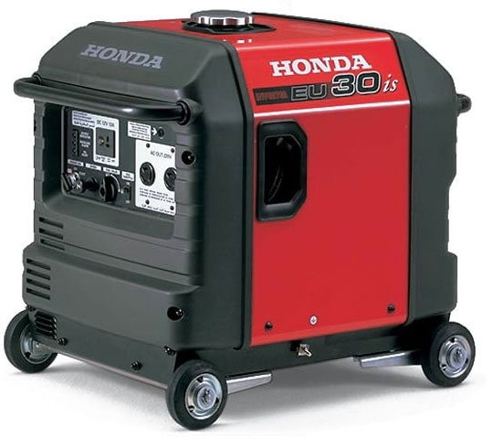 Бензиновый генератор Honda EU 30 is Inverter (2,8 кВт) электростарт